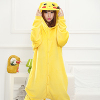 Onen Apparel Cheapest Winter animal Onesie pajamas jumpsuit kid Pikachu onesie
