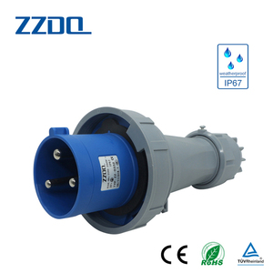 Factory direct sale 125 amp industrial plug