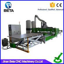 China factory price machining manufacturer loading unloading cnc router for furniture