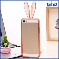 [GGIT] 2015 New Rabbit Shape TPU Bumper Mobile Phone Cover Case for iPhone 5s