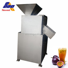 Big capacity 0.4t/h and 0.8t/h juice processing equipment/passion fruit puree pulping/puree making machine