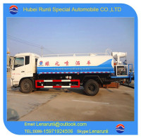 China famous brand Dongfeng 4*2 water spray truck, pesticide spraying truck for sale