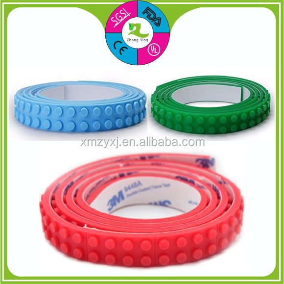 Silicone Building Blocks Compatible Baseplate Tape