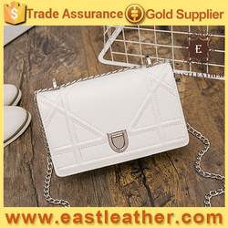 E1589 New HOT design taobao fashionable small metal chain strap sling bag