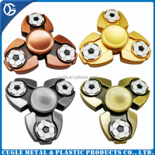 Novelty Design Kid's Toy Metal Zinc Alloy Relieve Stress Tri Hand Spinner