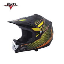 Matt Black Kids Racing Dirty Bike Helmet