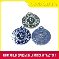 Metal material and gold type zodiac metal medals