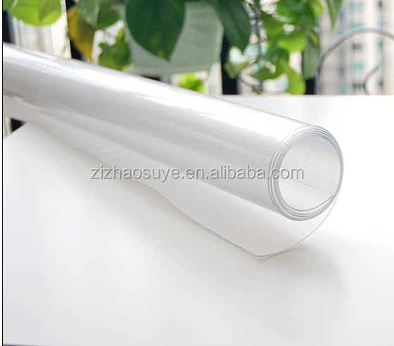 Super clear transparent soft pvc foam sheet