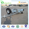 Quality galvanized single axle car cargo bike trailer for sale
