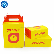 Customized disposable chicken paper packaging take away fried chicken box
