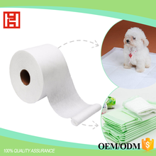 High Quality PP Spunbond Nonwoven Fabric In Roll Manufacturers In Chian Raw Materials For Pet Pads