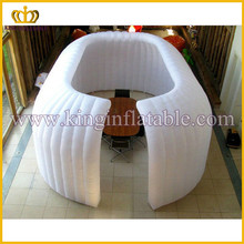 white mini inflatable office room tent ,indoor used inflatable tent