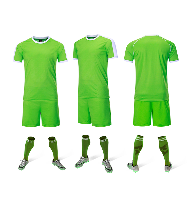 Soccer Sportswear Blank Training Jersey Newly Football Kits