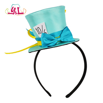 Alice In Wonderland Decoration 10/6 Cosplay Mad Hatter Headband
