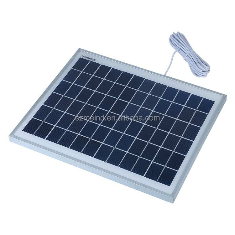 Portable high efficiency off-grid the solar system 8w for home lighting solar panel system
