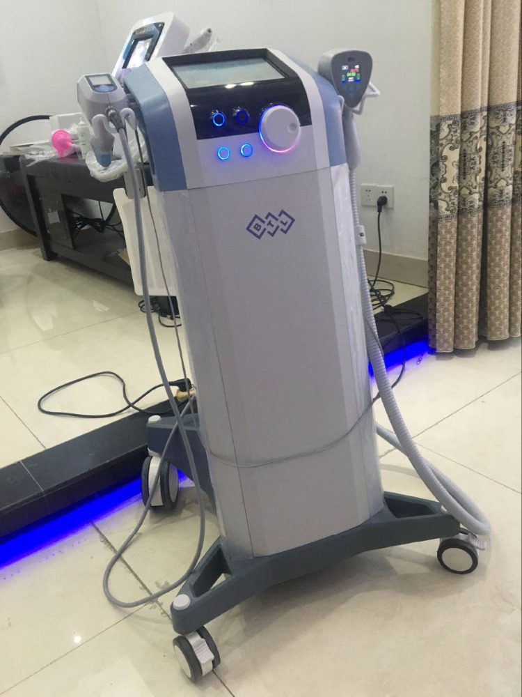 Hot selling BTL equipment mysterious exilis machine improved body face