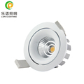 commertial recessed lepu led cob downlight cct warm dim classical model 2000-2800k dimmable warm white with 83mm cut high cri>90