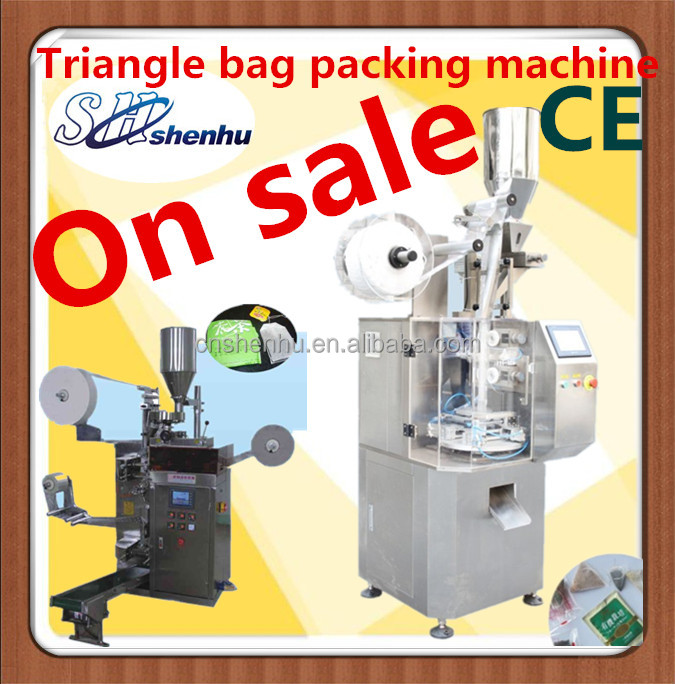 triangle inner and outer teabag pack machine