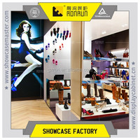 Fashion used retail shoe store ,lady's shoe shop display furniture,acrylic display rack