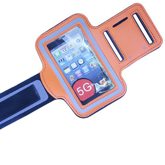 Adjustable sport running crossfit armband case for iphone 5 5s 5c