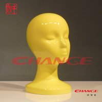 Fashion store glossy Female Mannequin Head