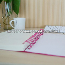 cute phone number notebook in office