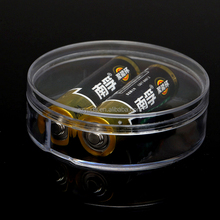 Counter top vertical acrylic round tube box for collection / display box /storage container