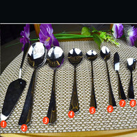 304 stainless steel in high quality pure silver spoon