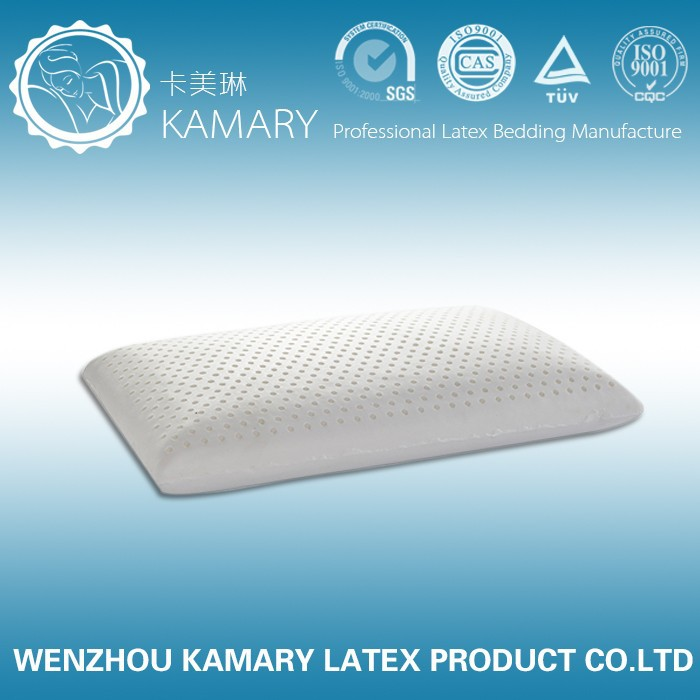 King Size high profile 100% Natural Standard Latex Foam Pillow