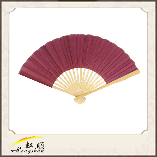 2016 Chinese craft supplies Chinese hand fan bamboo and silk hand fan