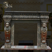 Outstanding manufacture modern marble fireplace surround