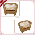 New rattan product waterproof luxury cat house pet sofa bed dog sofa