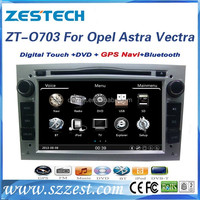 7 inch double din autoradio for Opel Astra H car audio video entertainment navigation system with GPS, BT, Radio, Audio, SWC,
