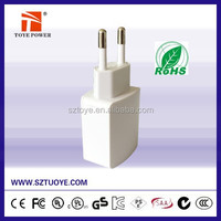 Wholesale China 220v Mobile Phone Adapters for Smart Phone Charging Wall Travel Charger