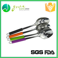 Chinese wholesaler stainless steel chinese soup spoon , soup mug with lid and spoon