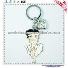 Loverly Promotion Soft Pvc Sexy Girl Key Chain