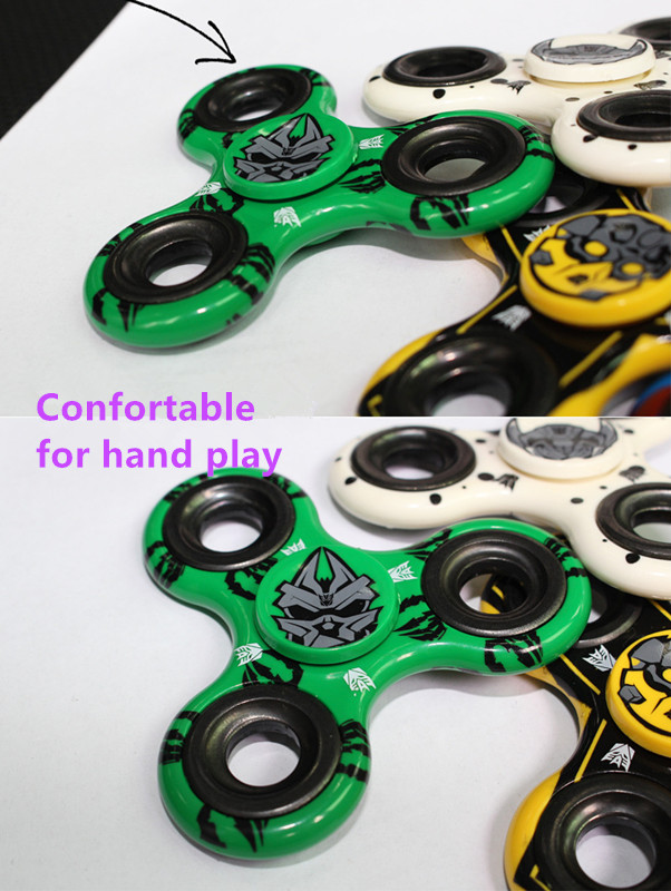 Transformer Hand Spinner Toy For Adult/Child Autism Anti Relieve Stress Finger Spinner