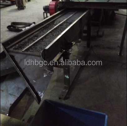 advanced process tire Shredding machine production line for different clients