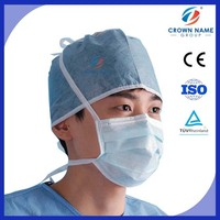 Dental supply China suppliers/disposable medical filter 3-ply face mask for surgical nonwoven face mask