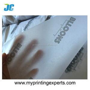 2017 Paper factory manufacturer custom printed t-shirt tissue paper