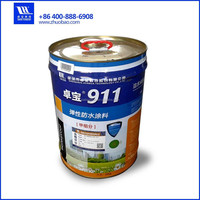 double polymer polyurethane coatings waterstop crack sealant paint waterproof wall materials