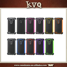 Shockproof Hybrid TPU + PC Armor Mobile Phone Case For LG G3
