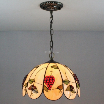 12inch stained glass made tiffany pendant lamp