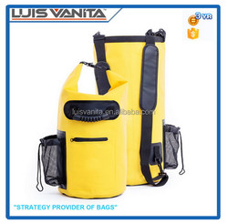 Custom logo waterproof dry bag survival pack PVC outdoor bag