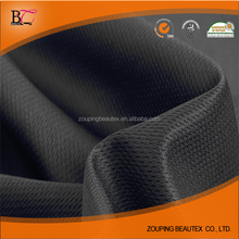 Polyester Breathable bird eye Mesh Fabric for Sportswear stocklot wholesale