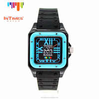 OEM 045 Fashion Women's Silicone Jelly Quartz Analog Dress Sports Wrist Watch
