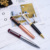 2018 new fashion square pen design stationery promotional pen with logo