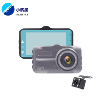 2018 Unique design dual camera dash cam 4k dash cam recorder car camera dvr