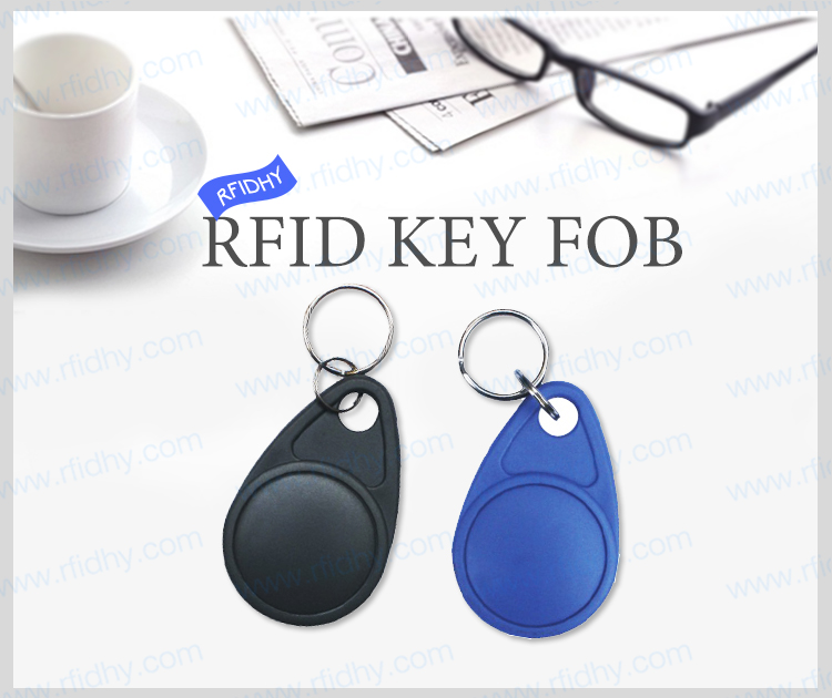 Waterproof Door Access AB16 MIFARE Ultralight C RFID Passive Key Tag