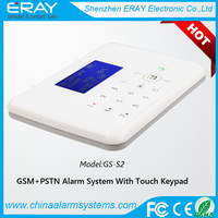 Wireless Home Burglar Smart GSM+PSTN Dual Network Security Alarm System With Auto Dial